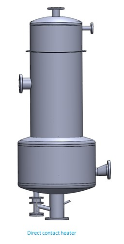 Direct Contact Heaters