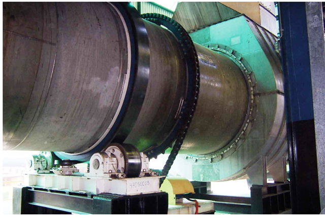 Rotary sugar dryer