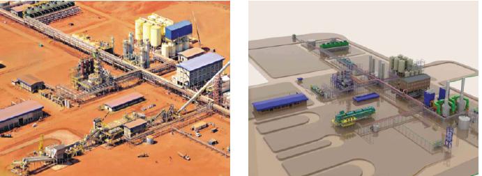 Cane sugar factory with backed sugar, ethamol and cogeneration