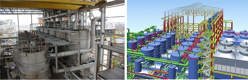 Raw sugar refinery