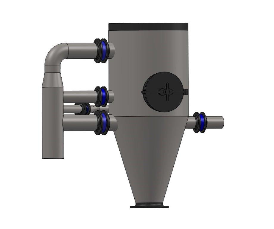 Open nozzle condenser
