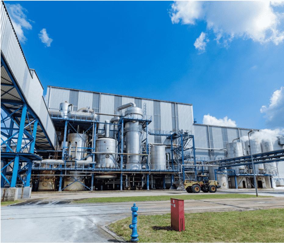 Sugar refineries